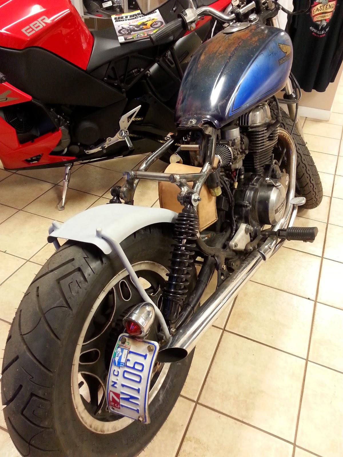 Deep Six Cycles  Honda CM450 Brat Style