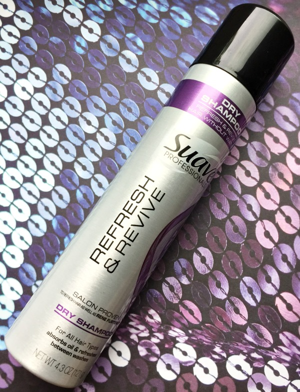 suave refresh and revive dry shampoo