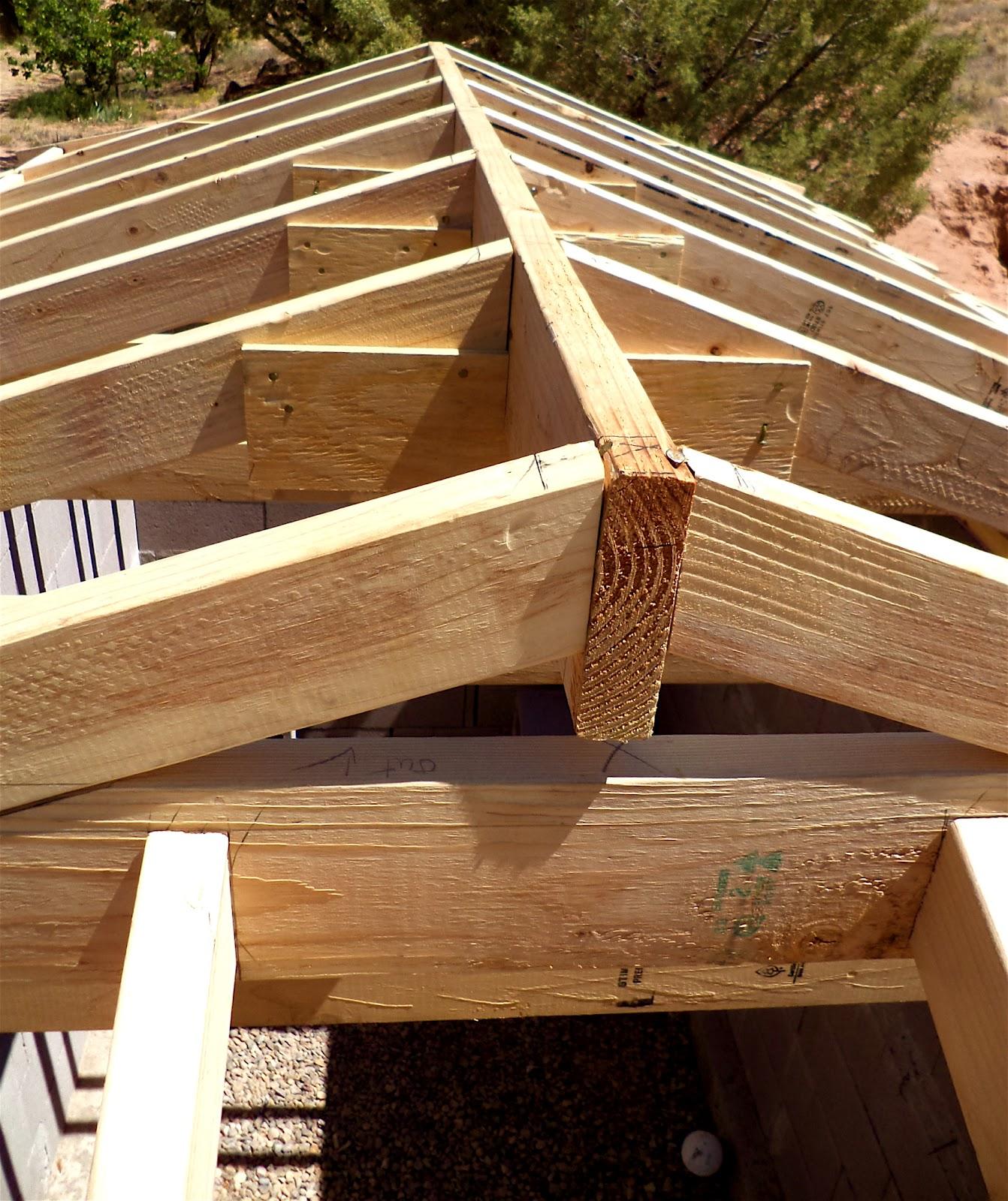 Крыша своими руками чертежи и фото 4 скатной