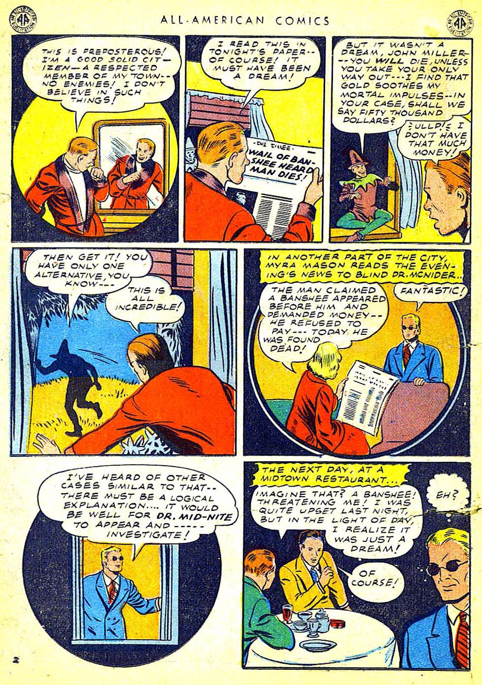 Read online All-American Comics (1939) comic -  Issue #65 - 20