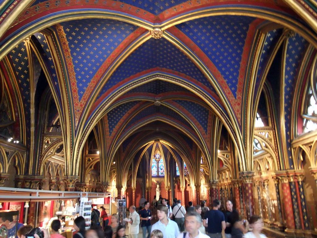 Lezioni di storia dell 39 arte il gotico architettura for Architettura a parigi