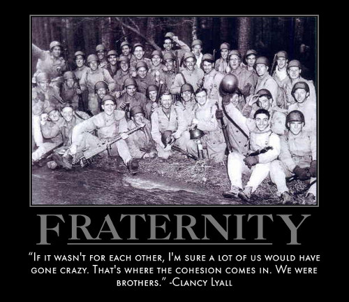 fraternities and brotherhood Many leaders in the african-american community are members of a fraternity or   alpha phi alpha fraternity, inc develops leaders, promotes brotherhood and.