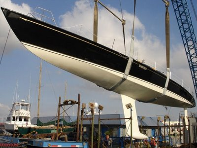 John Spencer was designing and building fast light displacement boats in New ...