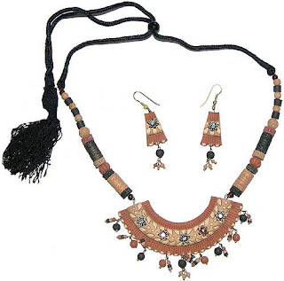 Traditional Indian Jewelry, Terracotta Jewellery