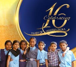 Akshaya Patra's 16th year Anniversary