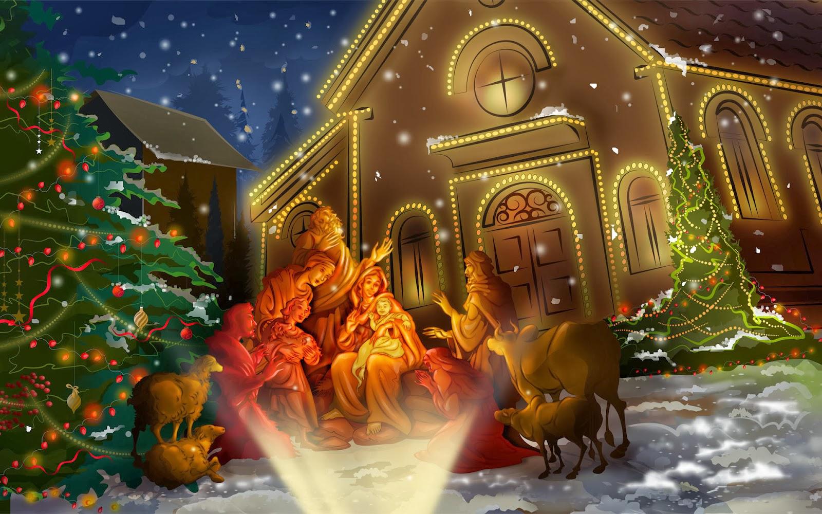 festivals celebration: celebrating the birth of Jesus Christ - Christmas