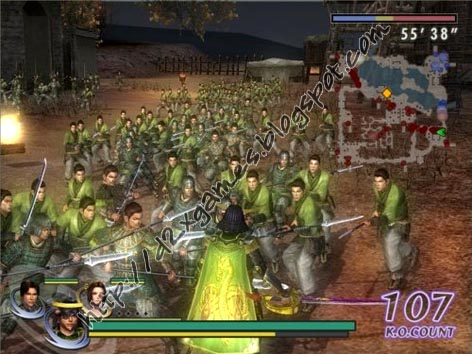 Free Download Games - Warriors Orochi