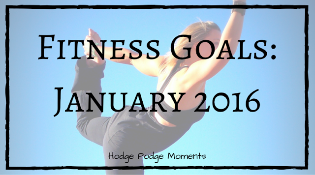 Fitness Goals: January 2016