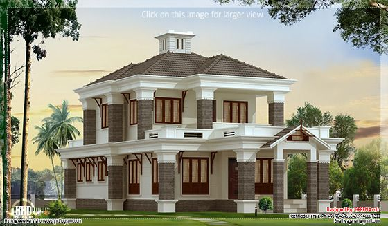 nice villa elevation