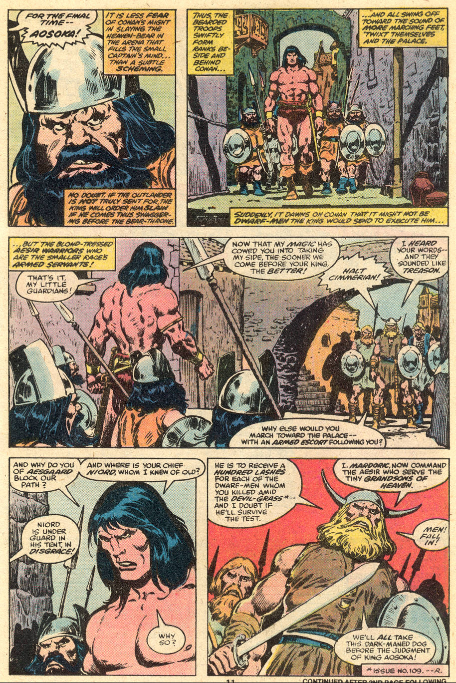 Conan the Barbarian (1970) Issue #111 #123 - English 8