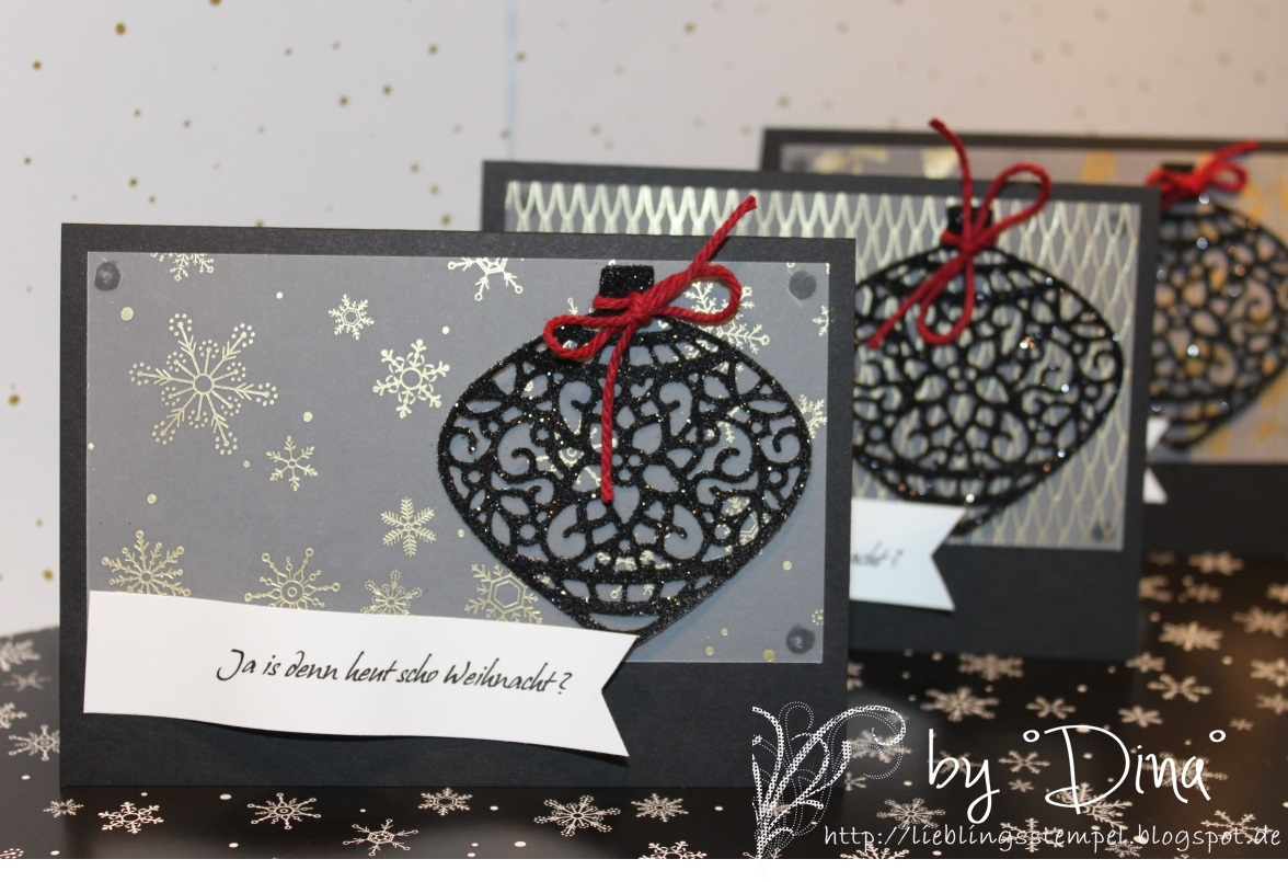 Lieblingsstempel kreativ mit stempel und papier und for Weihnachtskarten mit spruch