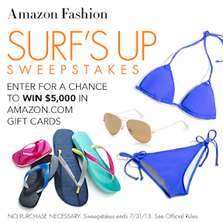 Amazon Fashion Surf's Up Sweepstakes