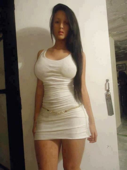 Hot girls in white