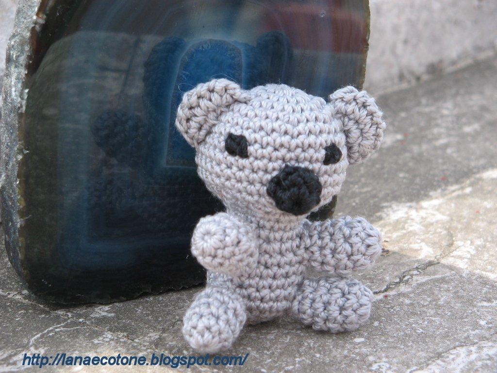 Link Amigurumi Crochet Pattern : Lana e Cotone (maglia e uncinetto): Koala amigurumi