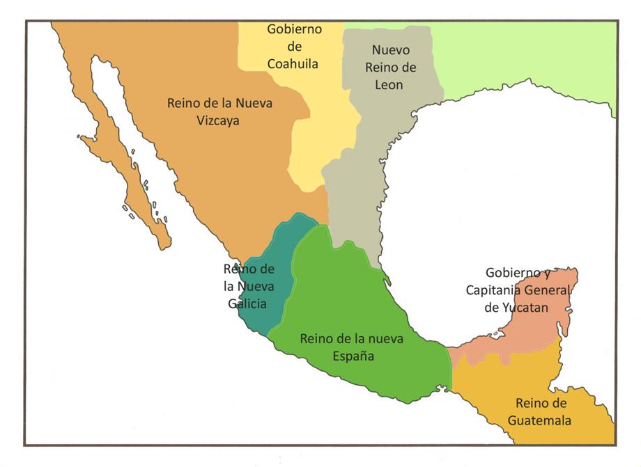 El virreinato en m xico for Villas que fundo nuno beltran de guzman en el occidente de mexico
