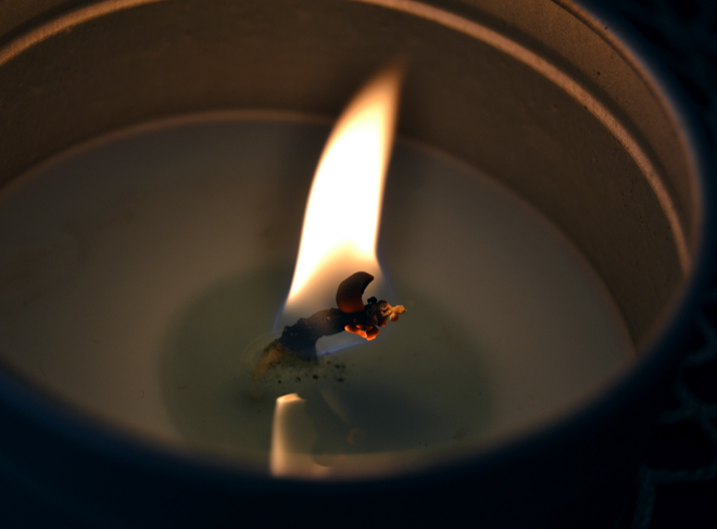 The Flying Clubhouse: Candle