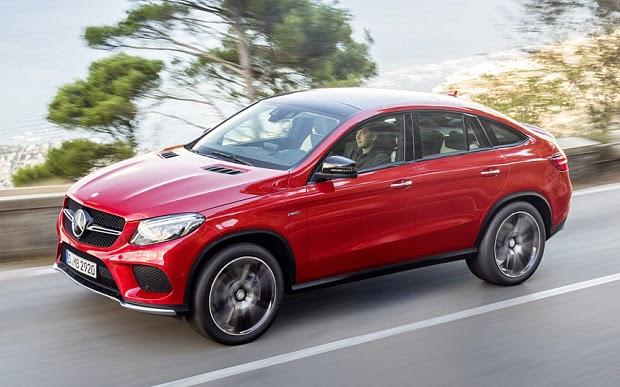Mercedes-Benz GLE Coupé Revealed