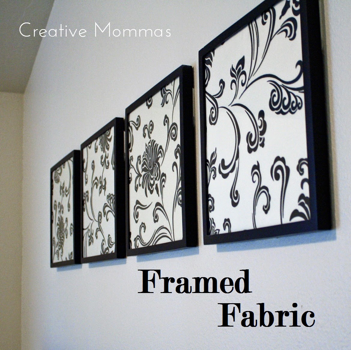 Framed Fabric Wall Decor