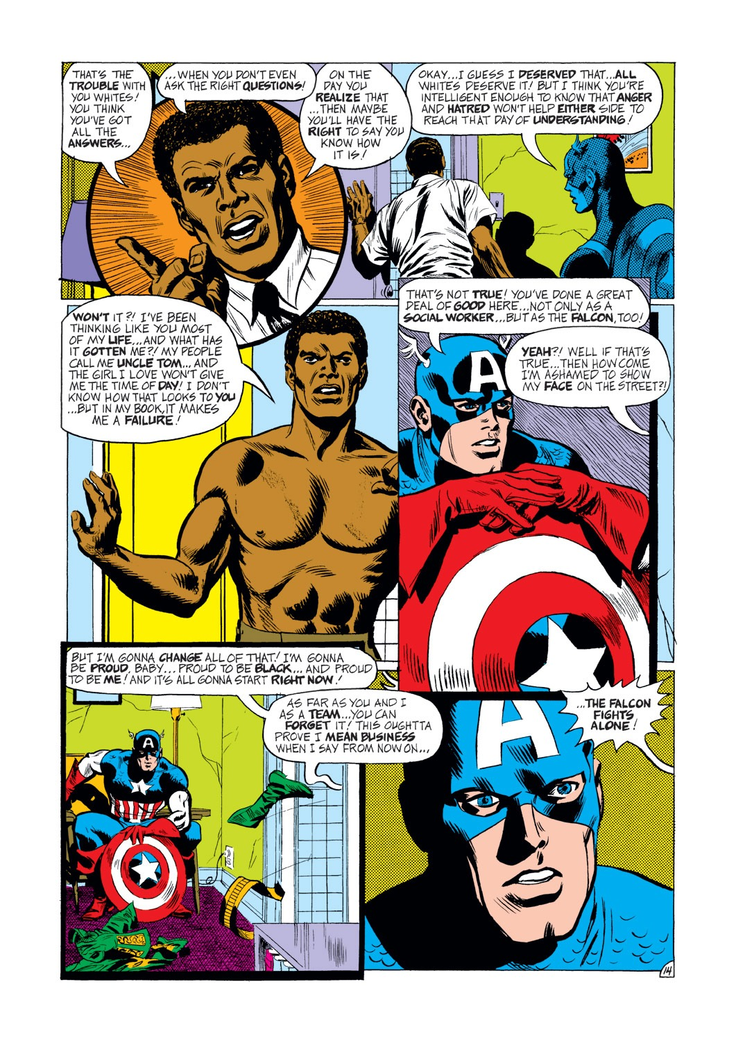 Captain America (1968) Issue #144 #58 - English 15