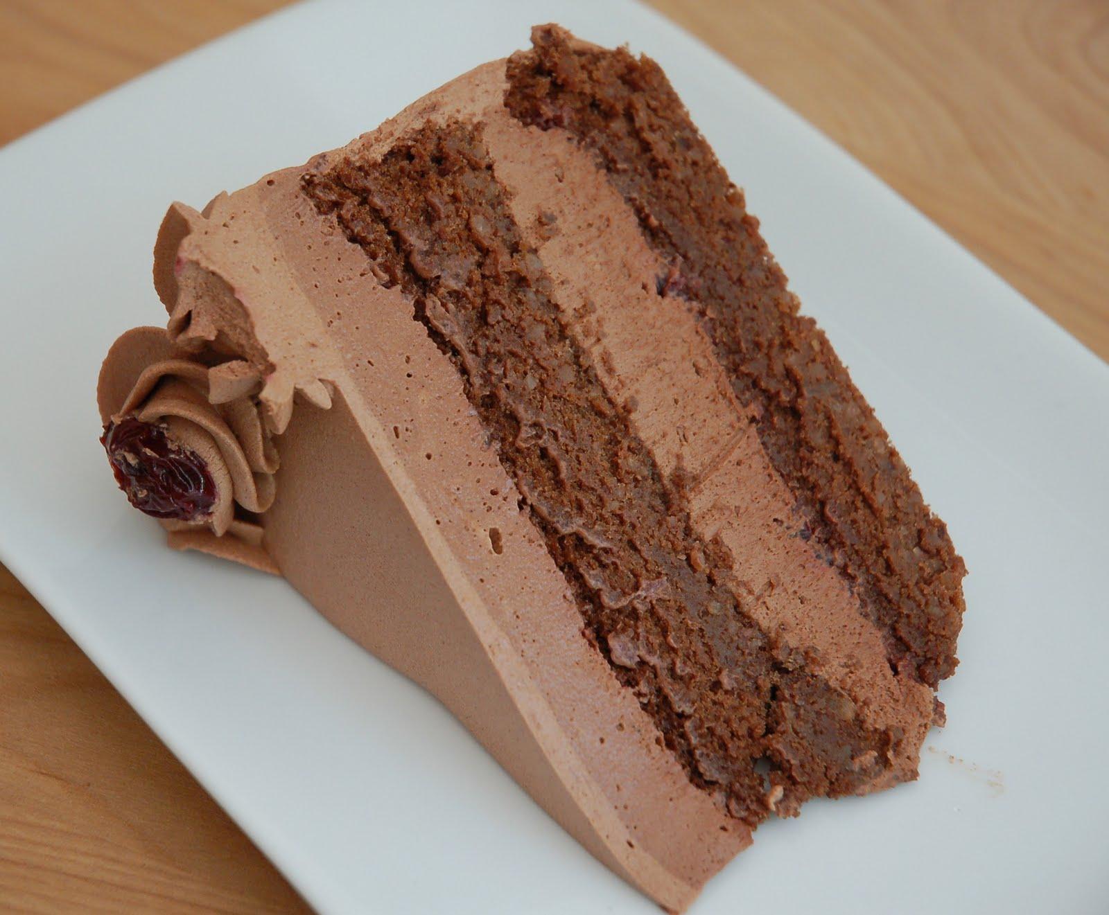 Passover Chocolate, Chocolate Cherry Cake