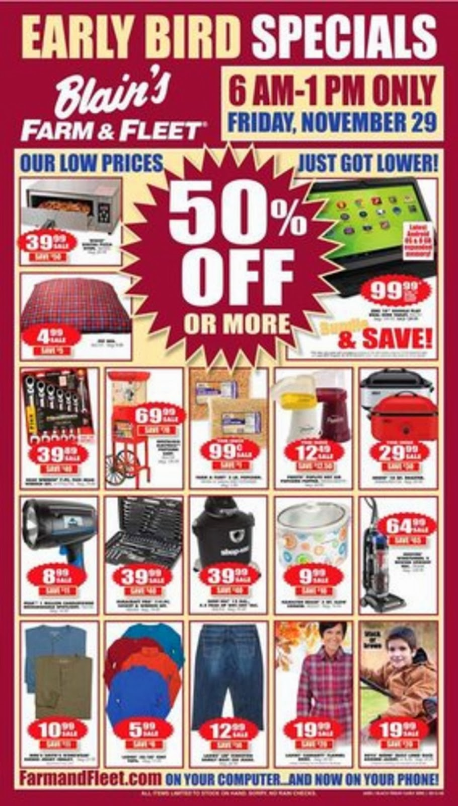 Blain's Farm and Fleet Black Friday Ad 2013 | Black Friday Ads 2013