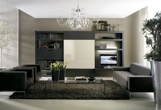 Living Room Interior Designs That Are Themed With Black Furniture Everything In These