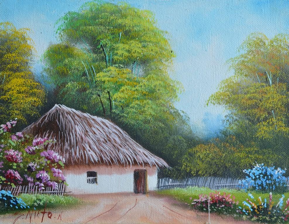 Imagenes de paisajes con casas f ciles imagui - Paisajes de casas ...