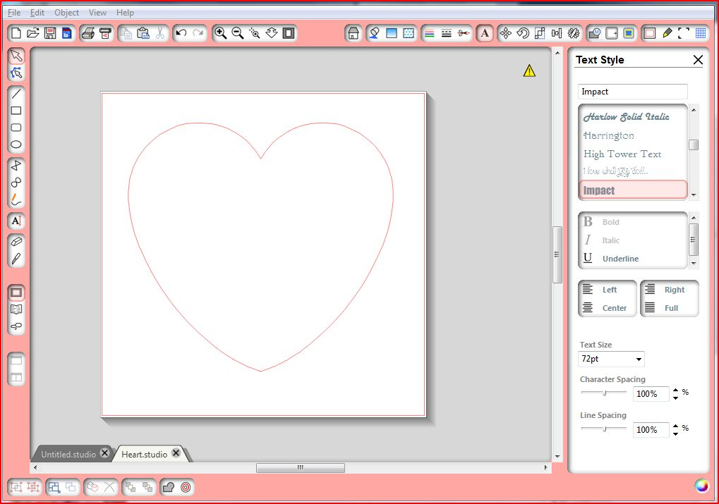 The Sensory Emporium Tutorial Making A Word Into A Heart On