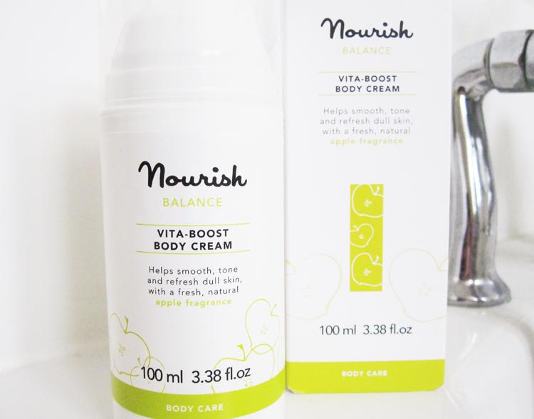 Nourish Balance Vita-Boost Body Cream review