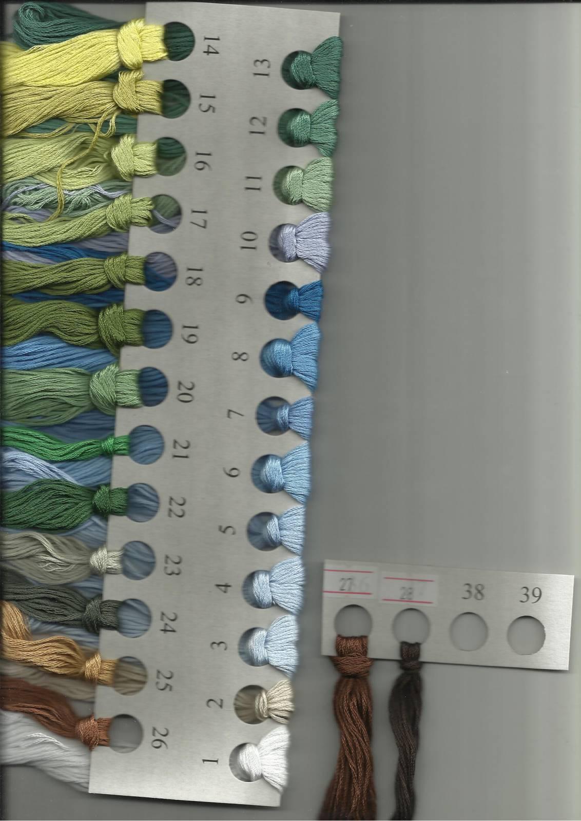 Схема вышивки просторы от овен