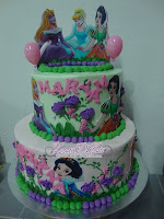EDIBLE IMAGE STACK CAKE