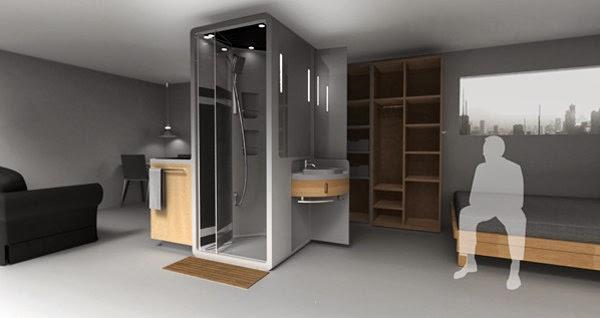 Marzua soluci n compacta para peque os espacios for Inodoros para espacios reducidos