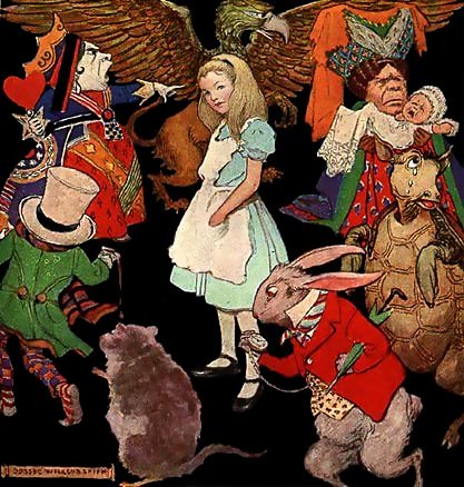differences between alice s adventures in wonderland The elements mentioned with the purpose of comparison of different  despite  the popularity of alice's adventures in wonderland and the sequel, through the.