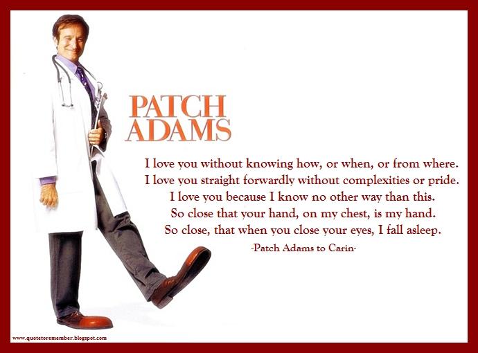 patch adams quotes nurses