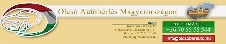 Olcsó Autóbérlés Magyarországon