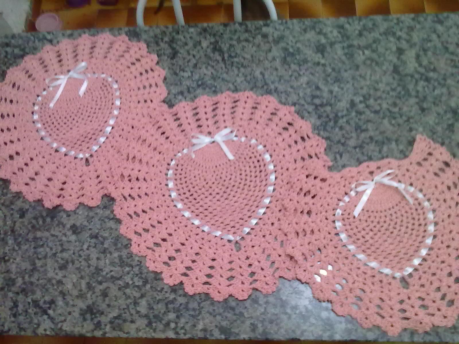 Crochê com Estela Jogo de Banheiro Abacaxi Barbante com Gráfico -> Jogo De Banheiro Simples Em Croche Com Grafico