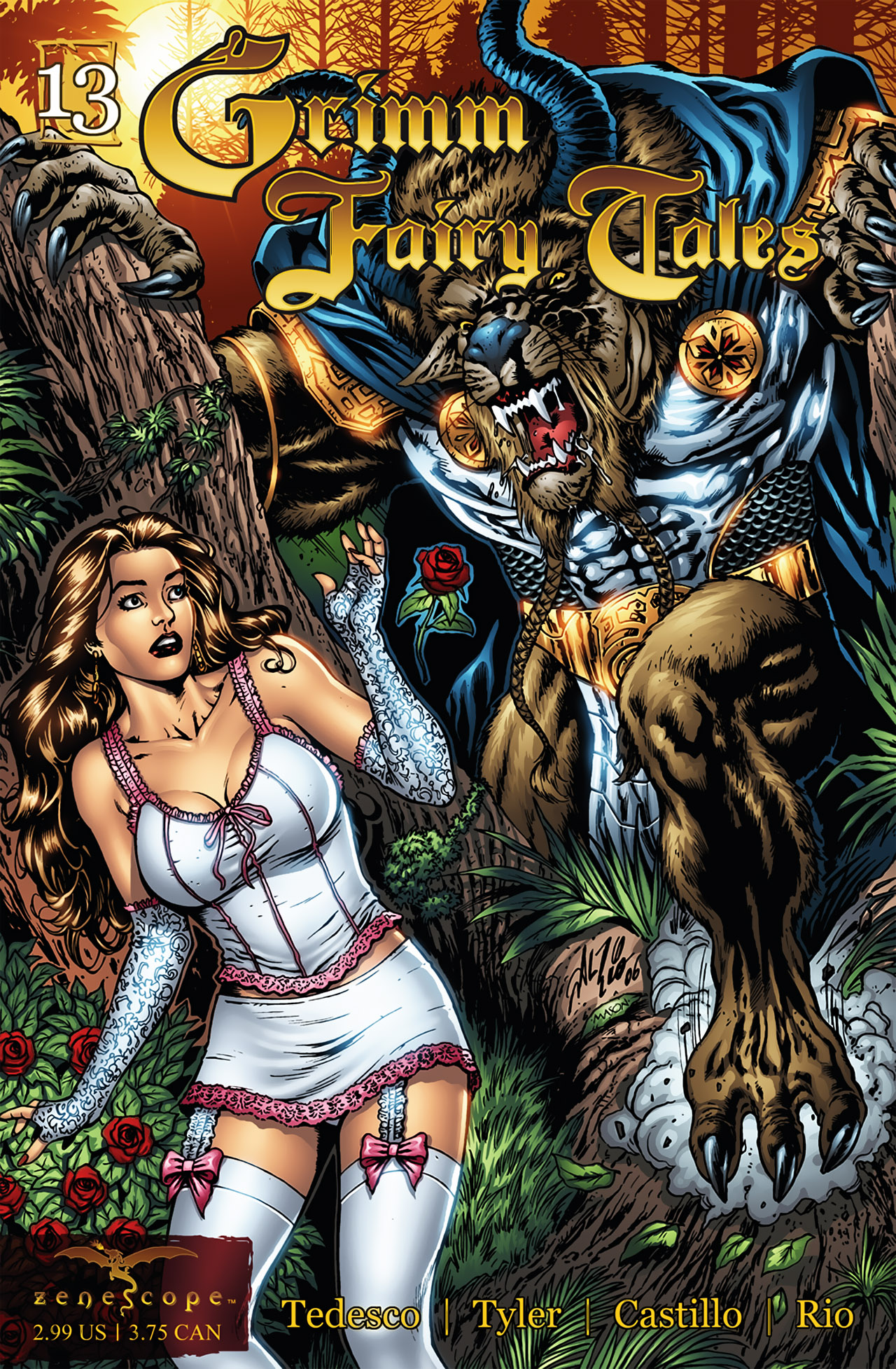 Grimm Fairy Tales (2005) Issue #13 #16 - English 1
