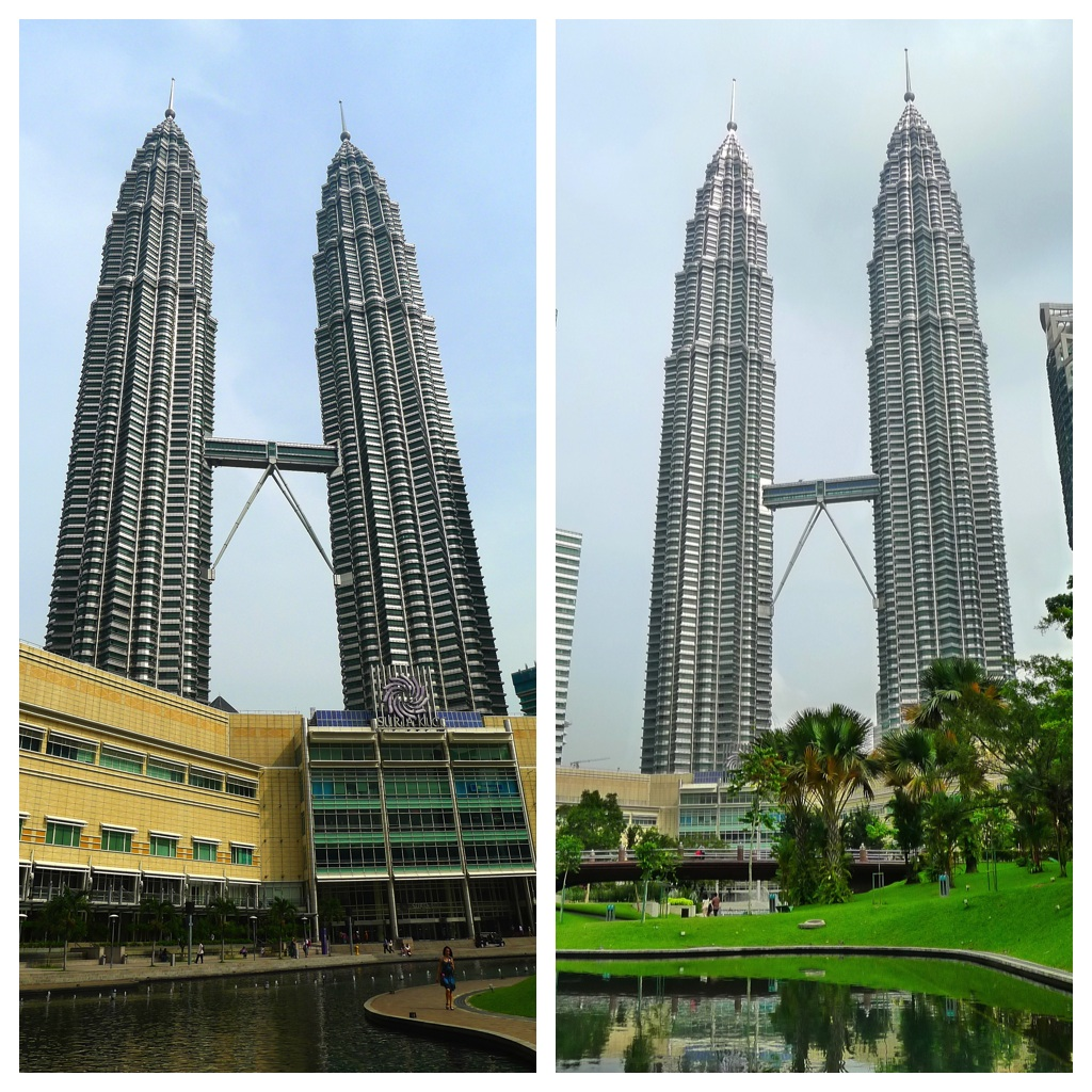 Petronas twin towers sketch