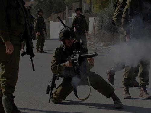 Tentara Israel tembakkan senjata (ilustrasi)