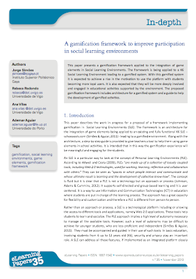 https://www.academia.edu/4793907/A_Gamification_Framework_to_Improve_Participation_in_Social_Learning_Environments