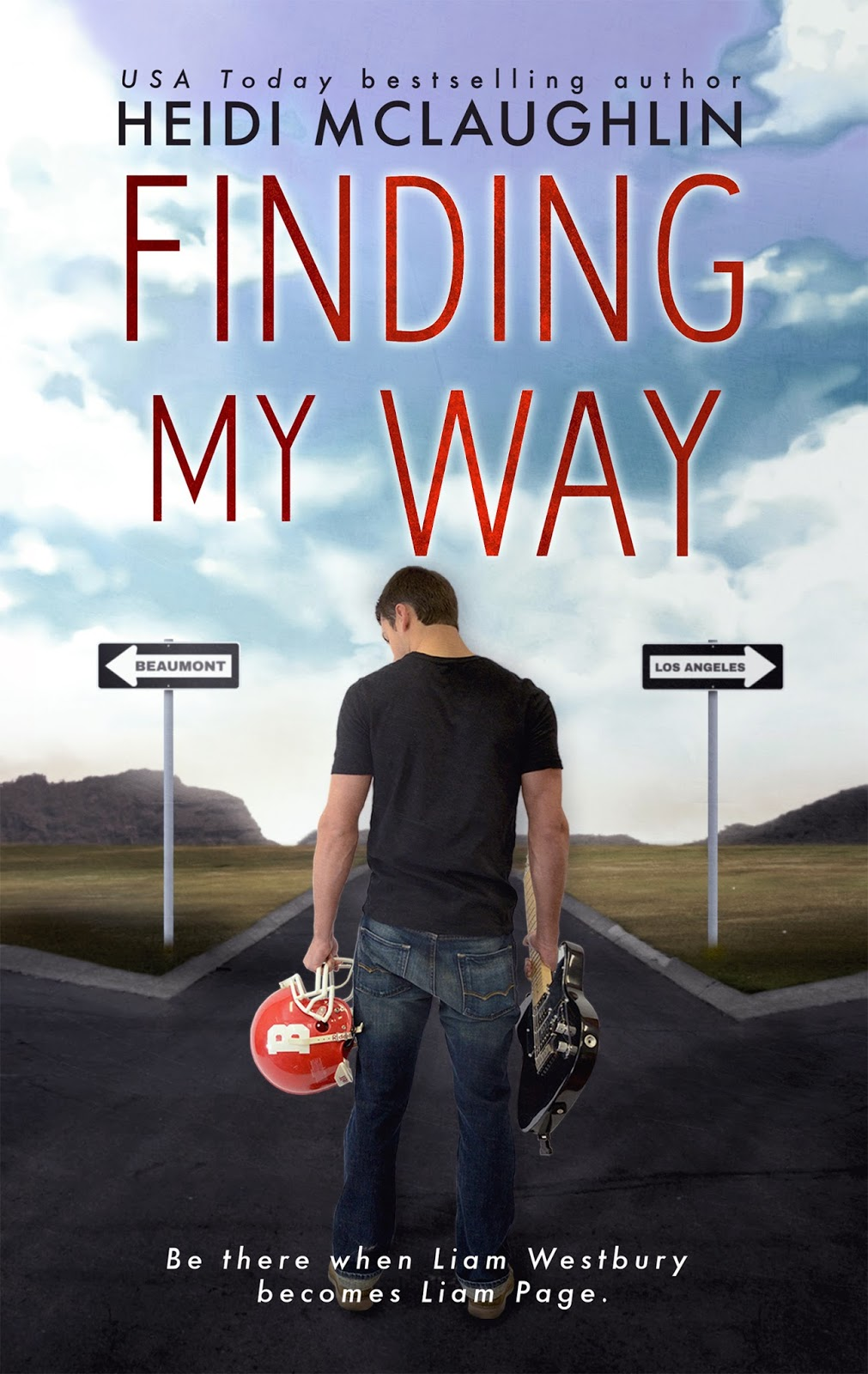 Cover Reveal: Finding my Way by Heidi McLaughlin