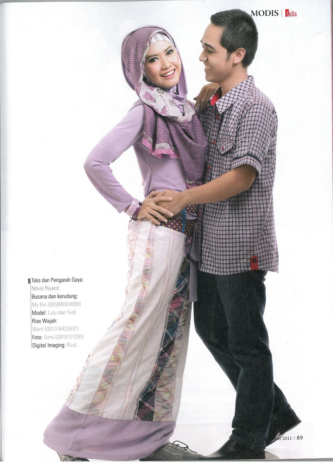 Couple of the Month AULIA Magazine-Malabis Moslem