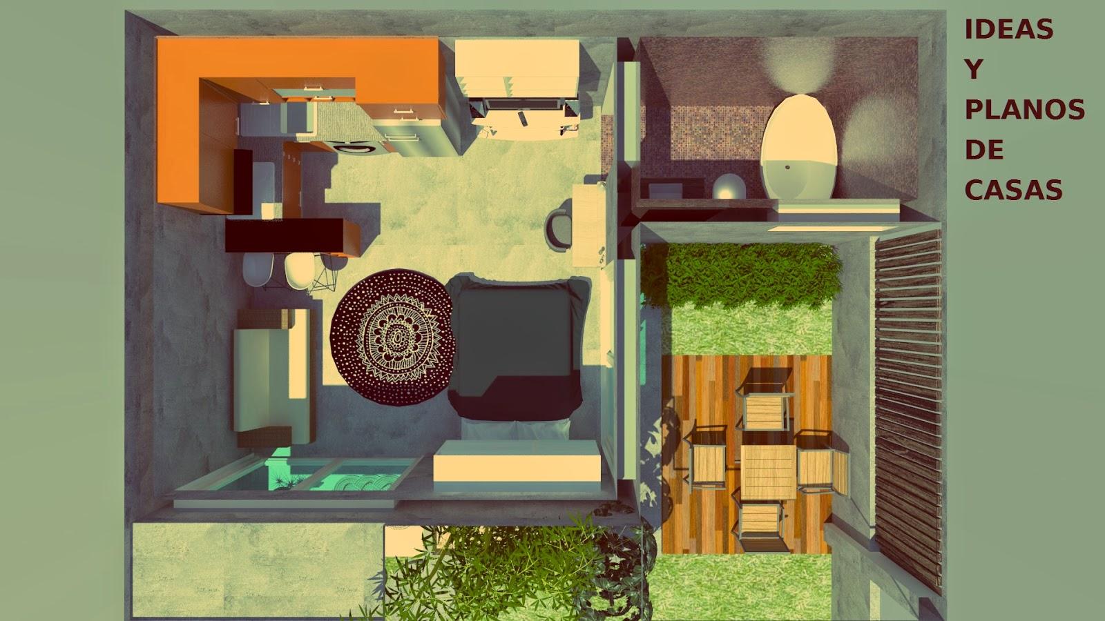 Un mini apartamento con todo lo que necesitas para vivir for Decoracion apartamento 100 metros