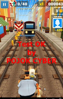 Tampilan APK Subway Surfer