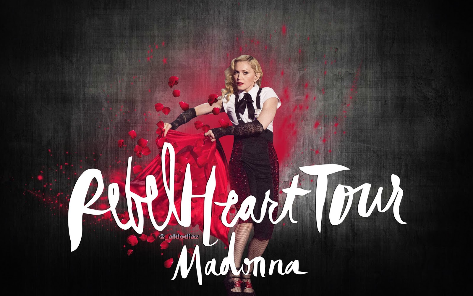 madonna fanmade covers: rebel heart tour - wallpaper