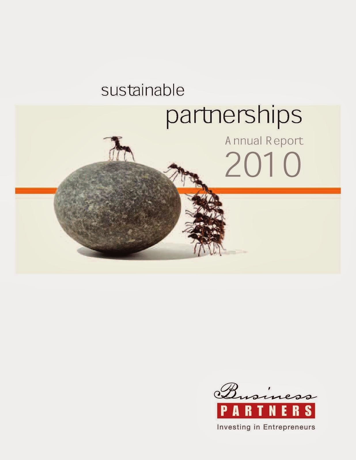 Business Partners Annual Report 2010