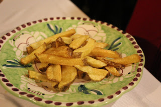 French fries at La Tagliata, Positano, Italy