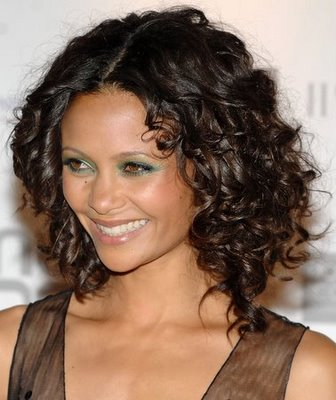 curly hairstyles for medium hair. short wavy hair styles. Almond