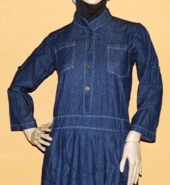 Blue Jeans Colour maxi dress