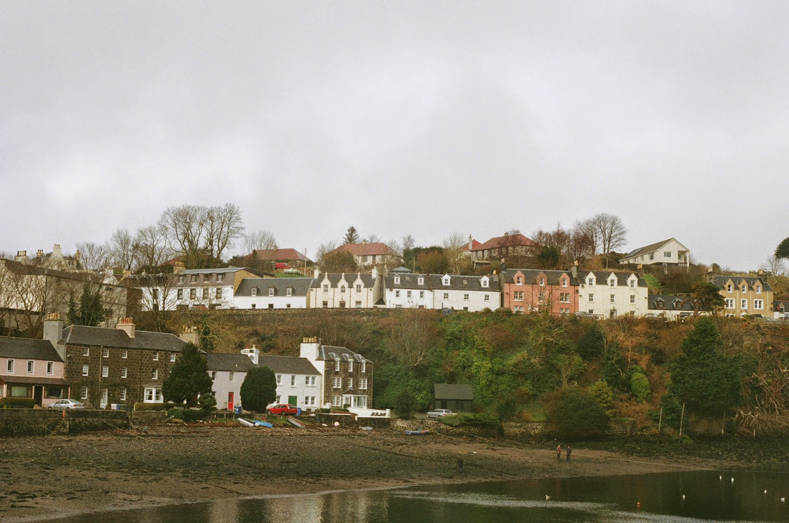 Portree Scotland seaside town